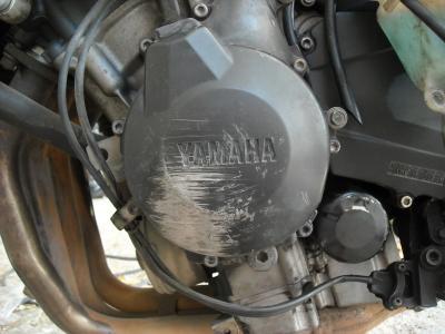 Carter moteur moto